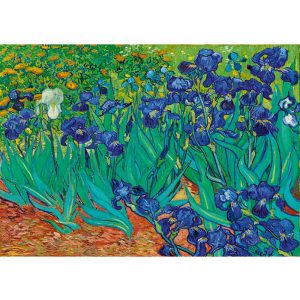 Art by Bluebird 1000 db-os puzzle - Vincent Van Gogh: Irises, 1889 - 60006