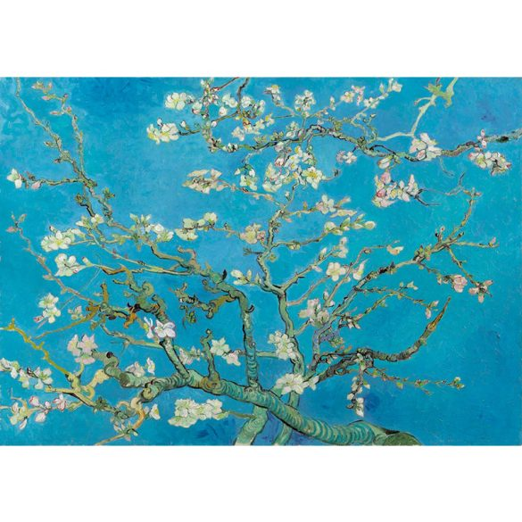 Art by Bluebird 1000 db-os puzzle - Vincent Van Gogh: Almond Blossom, 1890 - 60007