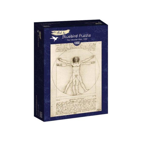 Art by Bluebird 1000 db-os puzzle - Leonardo Da Vinci: The Vitruvian Man, 1490 - 60009