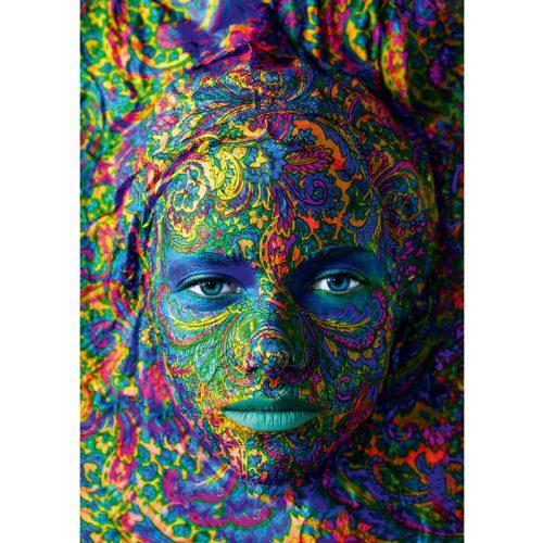 Art by Bluebird 1000 db-os puzzle - Face Art - Portrait of a woman 60010
