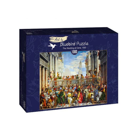 Art by Bluebird 1000 db-os puzzle - Paolo Veronese - The Wedding at Cana, 1563 - 60011