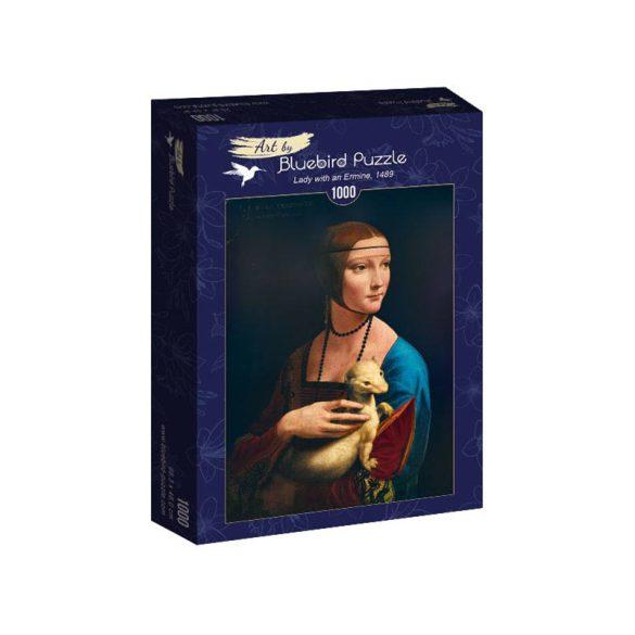 Art by Bluebird 1000 db-os puzzle - Leonardo Da Vinci - Lady with an Ermine, 1489 - 60012