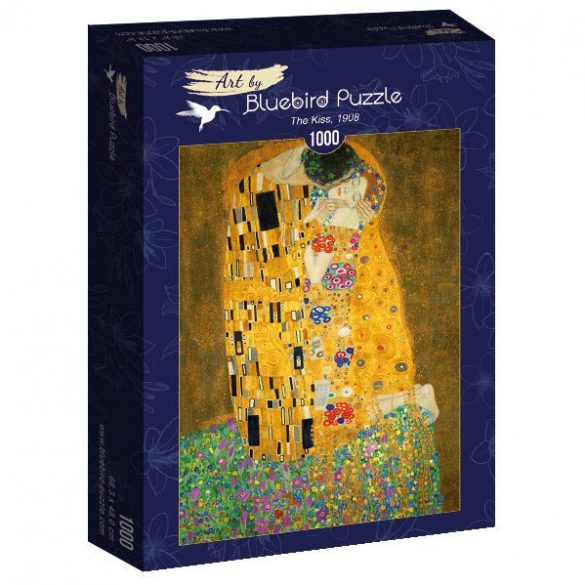 Art by Bluebird 1000 db-os puzzle - Gustave Klimt: The Kiss, 1908 - 60015