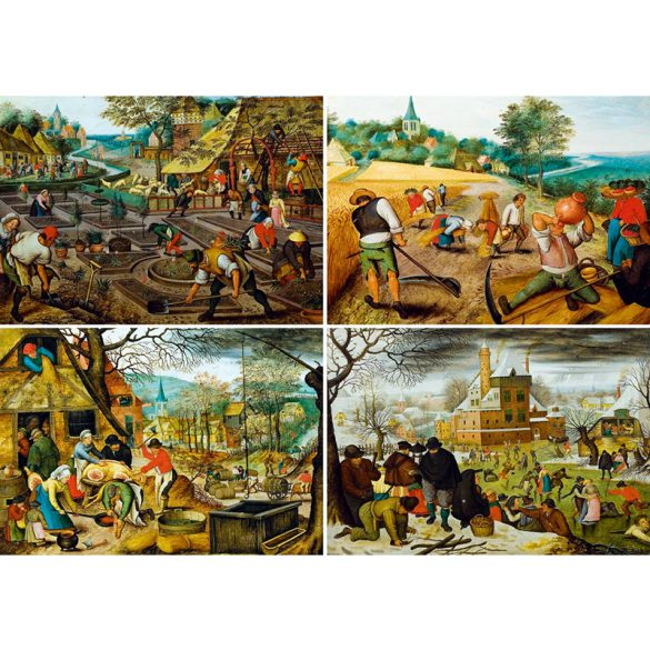 Art by Bluebird 1000 db-os puzzle - Pieter Brueghel the Younger - The Four Seasons 60020