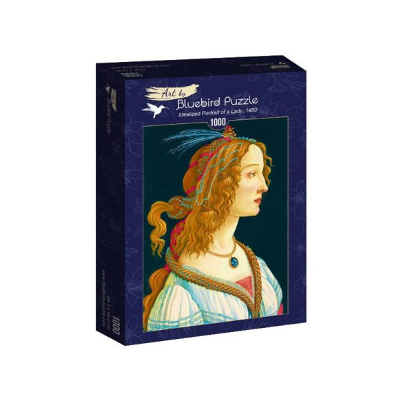 Art by Bluebird 1000 db-os puzzle - Sandro Botticelli - Idealized Portrait of a Lady, 1480 - 60023