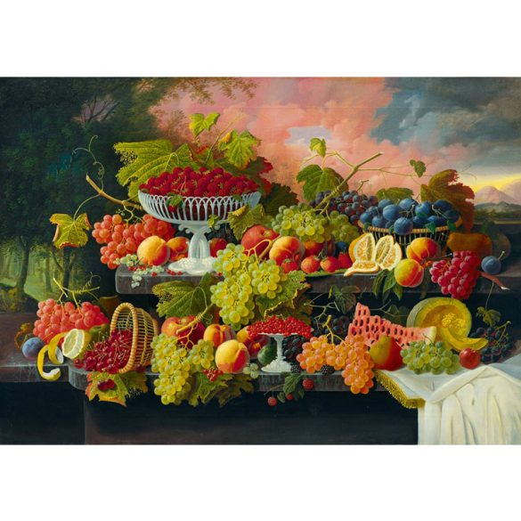 Art by Bluebird 1000 db-os puzzle - Severin Roesen - Still Life, 1867 - 60024