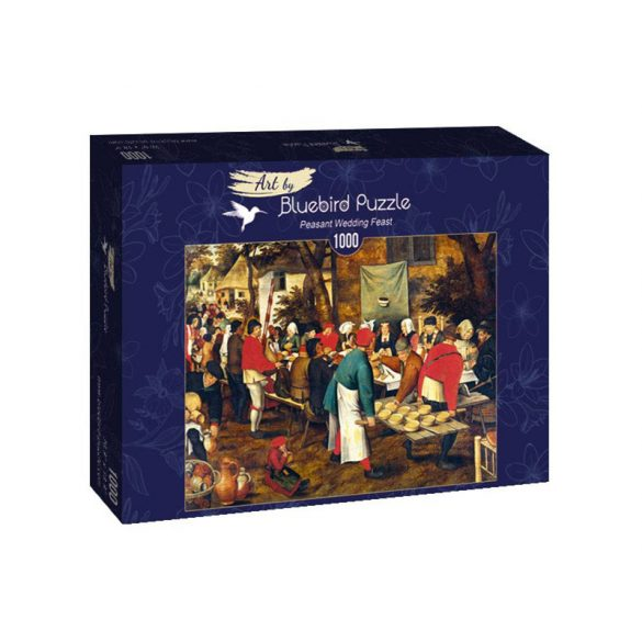 Art by Bluebird 1000 db-os puzzle - Pieter Brueghel the Younger: Peasant Wedding Feast - 60025