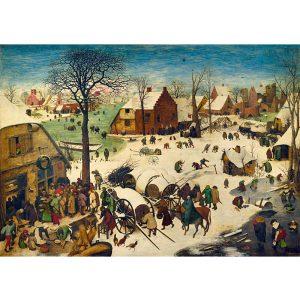 Art by Bluebird 1000 db-os puzzle - Pieter Bruegel the Elder: The Census at Bethlehem, 1566 - 60026