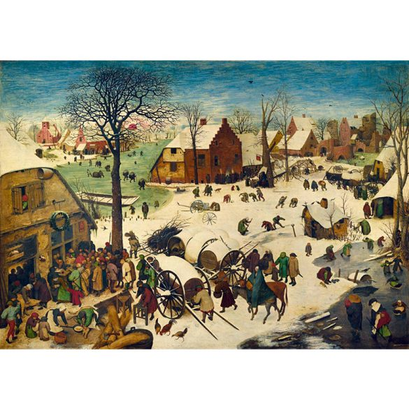 Art by Bluebird 1000 db-os puzzle - Pieter Bruegel the Elder: The Census at Bethlehem, 1566 - 60026
