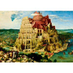 Art by Bluebird 1000 db-os puzzle - Pieter Bruegel the Elder: The Tower of Babel, 1563 - 60027