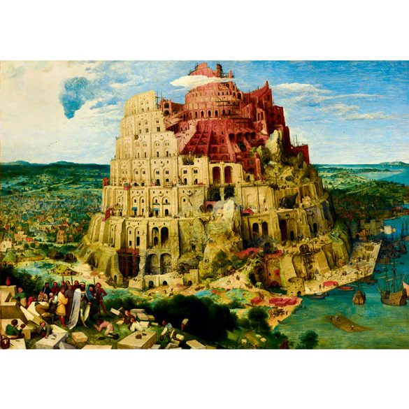Art by Bluebird 1000 db-os puzzle - Pieter Bruegel the Elder: The Tower of Babel, 1563 - 60027
