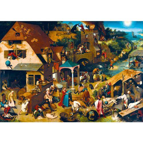 Art by Bluebird 1000 db-os puzzle - Pieter Bruegel the Elder: Netherlandish Proverbs, 1559 - 60028