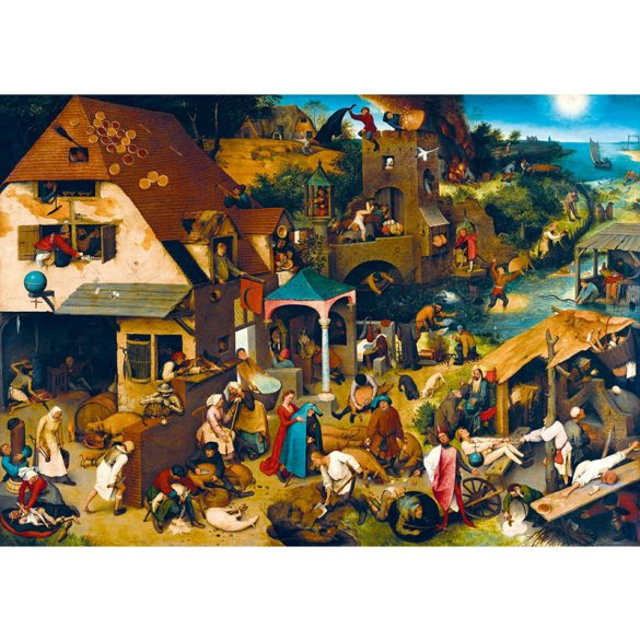 Art by Bluebird 1000 db-os puzzle - Pieter Bruegel the Elder: Netherlandish Proverbs, 1559 - 60028