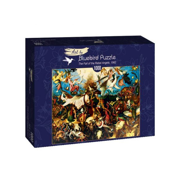 Art by Bluebird 1000 db-os puzzle - Pieter Bruegel the Elder: The Fall of the Rebel Angels, 1562 - 60032