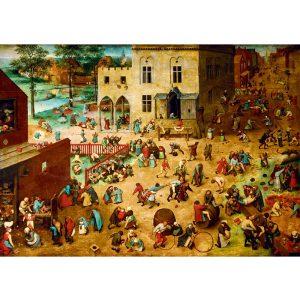 Art by Bluebird 1000 db-os puzzle - Pieter Bruegel the Elder: Children's Games, 1560 - 60034