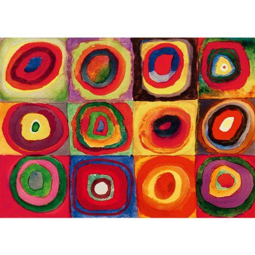 Art by Bluebird 1000 db-os puzzle - Kandinsky: Colour Study, 1913 - 60035