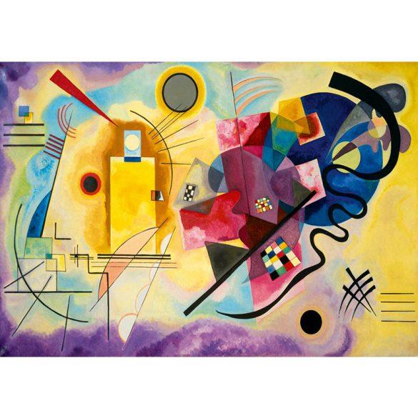 Art by Bluebird 1000 db-os puzzle - Kandinsky: Gelb-Rot-Blau, 1925 - 60036