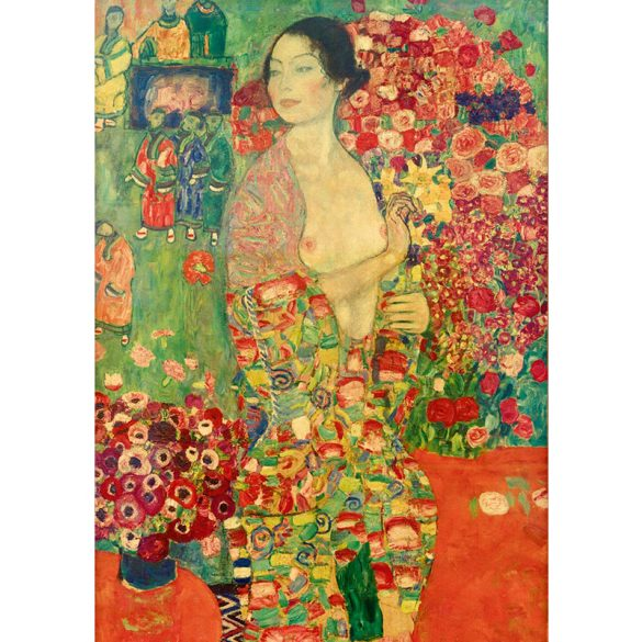 Art by Bluebird 1000 db-os puzzle - Gustave Klimt: The Dancer, 1918 - 60037