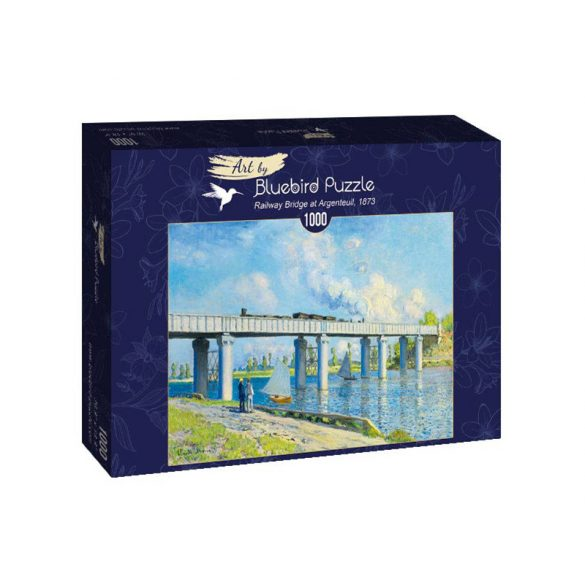 Art by Bluebird 1000 db-os puzzle - Claude Monet: Railway Bridge at Argenteuil, 1873 - 60038