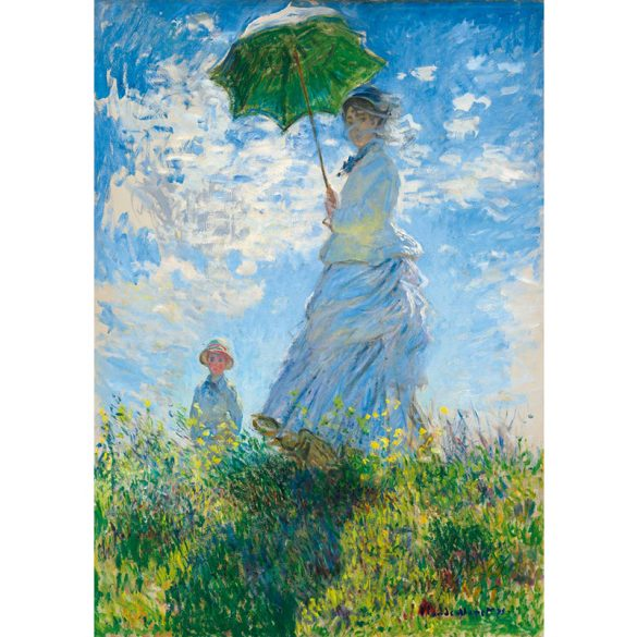 Art by Bluebird 1000 db-os puzzle - Claude Monet:  Woman with a Parasol - Madame Monet and Her Son 60039