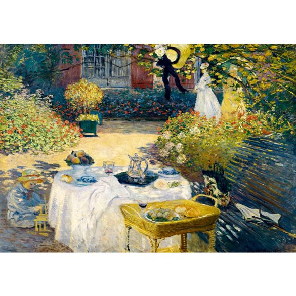 Art by Bluebird 1000 db-os puzzle - Claude Monet: The Lunch, 1873 - 60040