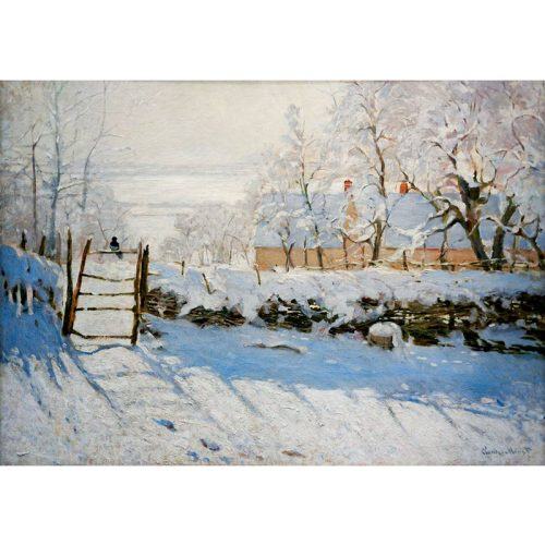 Art by Bluebird 1000 db-os puzzle - Claude Monet: The Magpie, 1869 - 60041