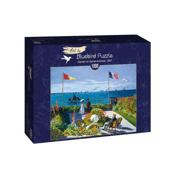 Art by Bluebird 1000 db-os puzzle - Claude Monet: Garden at Sainte-Adresse, 1867 - 60042