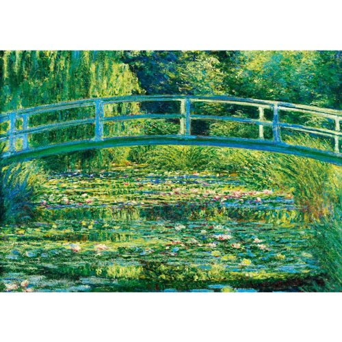 Art by Bluebird 1000 db-os puzzle - Claude Monet: The Water-Lily Pond, 1899 - 60043