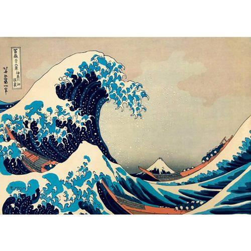 Art by Bluebird 1000 db-os puzzle - Hokusai: The Great Wave off Kanagawa, 1831 - 60045