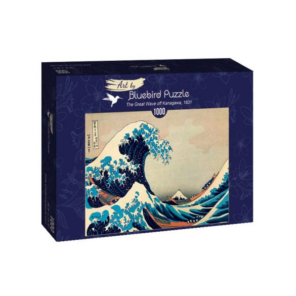 Art by Bluebird 1000 db-os puzzle - Hokusai: The Great Wave off Kanagawa, 1831 - 60045