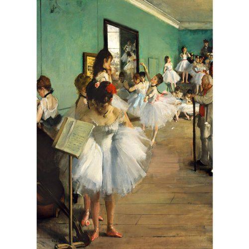 Art by Bluebird 1000 db-os puzzle - Degas: The Dance Class, 1874 - 60046