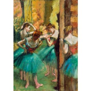 Art by Bluebird 1000 db-os puzzle - Degas: Dancers, Pink and Green, 1890 - 60047
