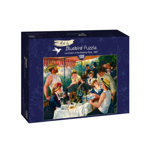 Art by Bluebird 1000 db-os puzzle - Renoir: Luncheon of the Boating Party, 1881 - 60048