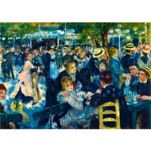 Art by Bluebird 1000 db-os puzzle - Renoir: Dance at Le Moulin de la Galette, 1876 - 60049