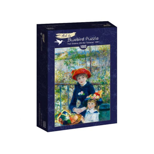 Art by Bluebird 1000 db-os puzzle - Renoir: Two Sisters (On the Terrace), 1881 - 60050