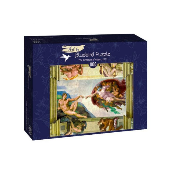 Art by Bluebird 1000 db-os puzzle - Michelangelo: The Creation of Adam, 1511 - 60053