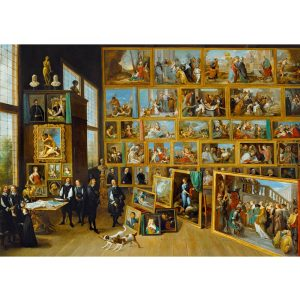 Art by Bluebird 1000 db-os puzzle - David Teniers the Younger: The Art Collection of Archduke Leopold Wilhelm in Brussels, 1652 - 60054