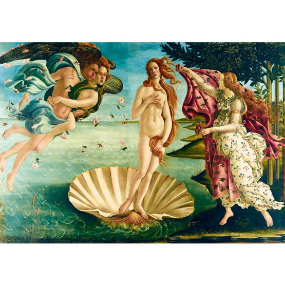 Art by Bluebird 1000 db-os puzzle - Botticelli: The birth of Venus, 1485 - 60055