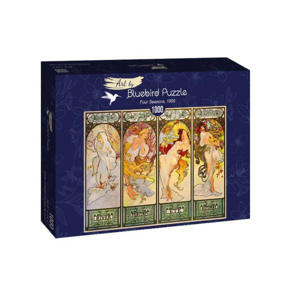 Art by Bluebird 1000 db-os puzzle - Mucha: Four Seasons, 1900 - 60056