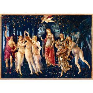 Art by Bluebird 1000 db-os puzzle - Botticelli: La Primavera (Spring), 1482 - 60057
