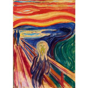 Art by Bluebird 1000 db-os puzzle - Munch: The Scream, 1910 - 60058