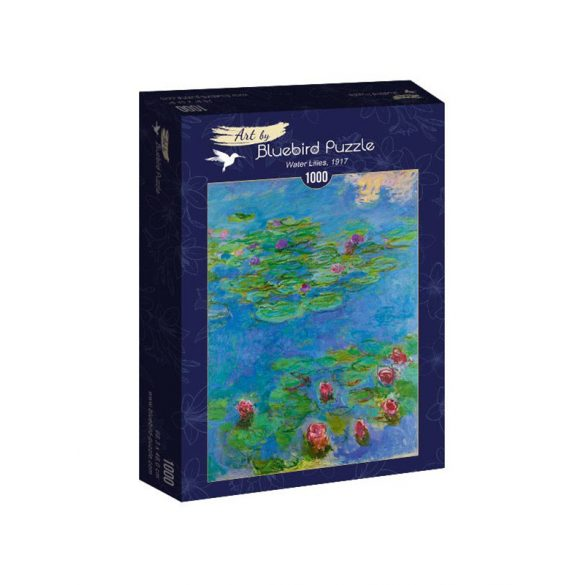 Art by Bluebird 1000 db-os puzzle - Claude Monet: Water Lilies, 1917 - 60062