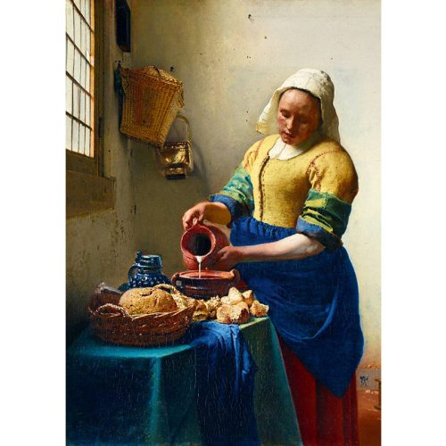 Art by Bluebird 1000 db-os puzzle - Vermeer: The Milkmaid, 1658 - 60066