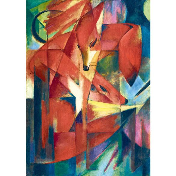 Art by Bluebird 1000 db-os puzzle - Franz Marc: The Foxes, 1913 - 60068