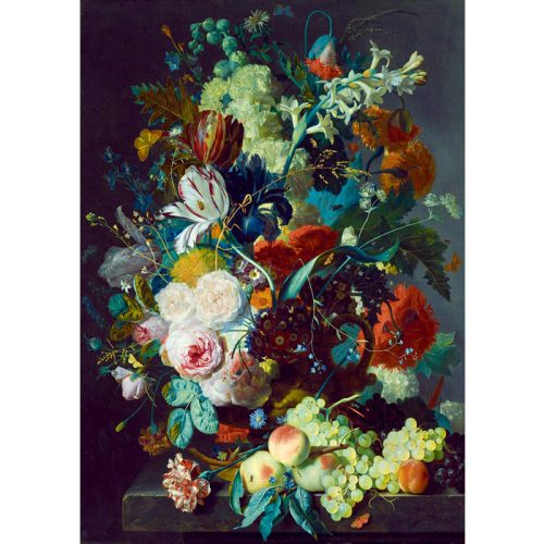 Art by Bluebird 1000 db-os puzzle - Jan Van Huysum: Still Life with Flowers and Fruit, 1715 - 60072