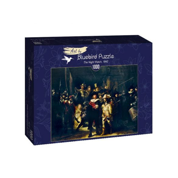 Art by Bluebird 1000 db-os puzzle - Rembrandt: The Night Watch, 1642 - 60078