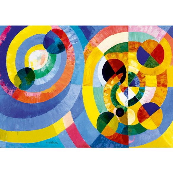 Art by Bluebird 1000 db-os puzzle - Robert Delaunay: Circular Forms, 1930 - 60081