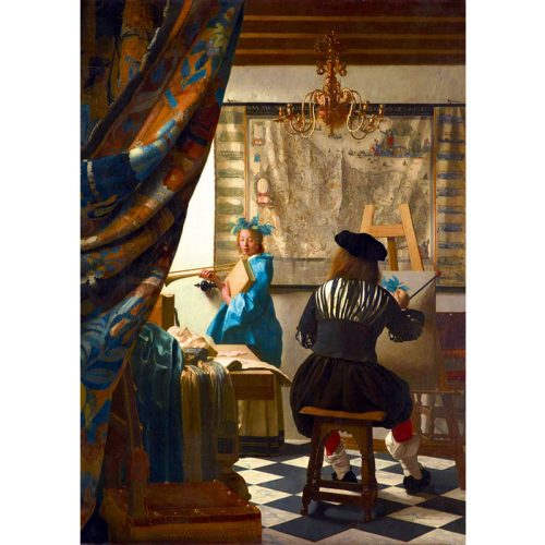Art by Bluebird 1000 db-os puzzle - Johannes Vermeer: Art of Painting, 1668 - 60083