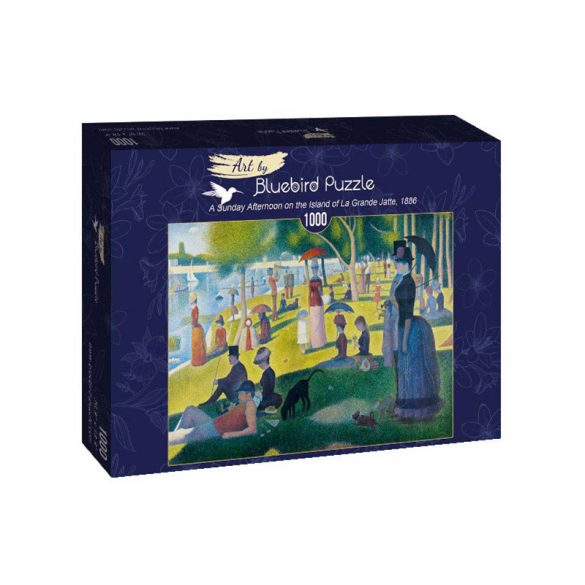 Art by Bluebird 1000 db-os puzzle - Georges Seurat: A Sunday Afternoon on the Island of La Grande Jatte, 1886 - 60086
