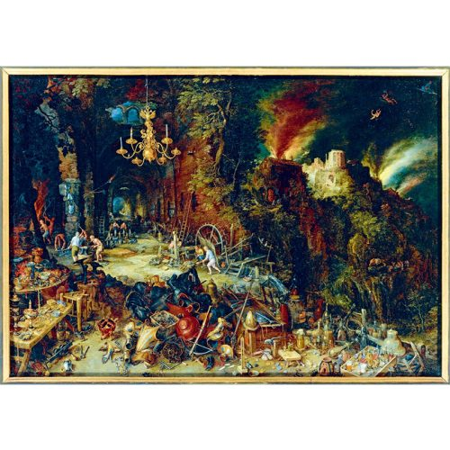 Art by Bluebird 1000 db-os puzzle - Jan Brueghel the Elder: Allegory of Fire, 1608 - 60091
